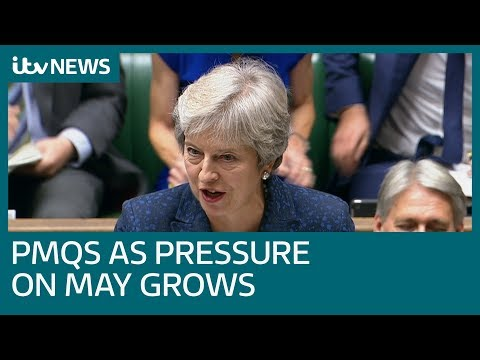 Theresa May faces PMQs as Brexit pressure mounts | ITV News