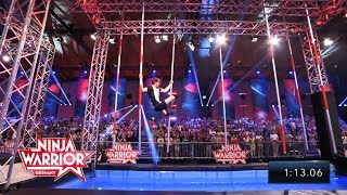 Moritz Hans, die Crème de la Crème unter den deutschen Ninja Warriors | Ninja Warrior Germany 2018