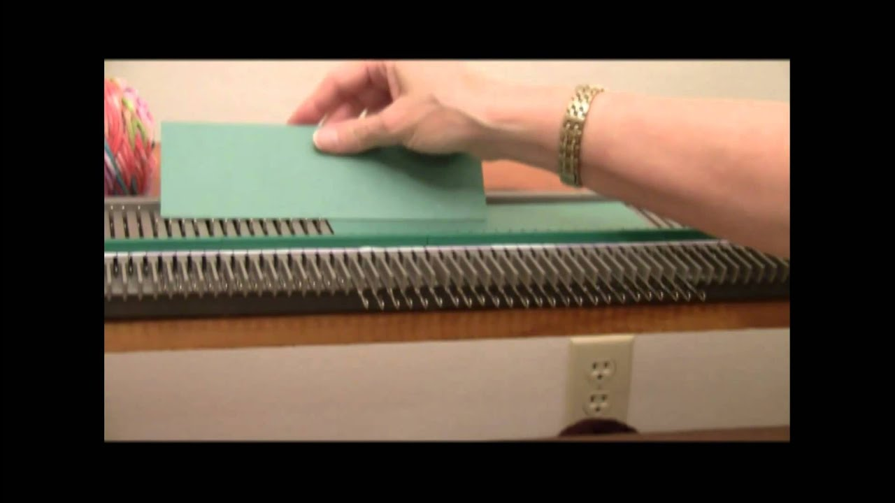 ddf2f2cd9 Ultimate Sweater Machine Scarves Part 1 of 2 - YouTube