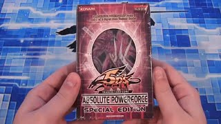yugioh absolute powerforce special edition opening