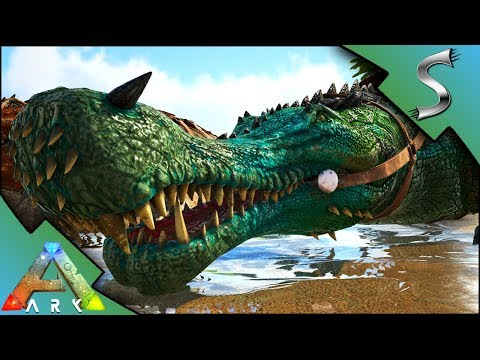 ARK SARCO MUTATIONS! BREEDING FOR MUTANT SARCOSUCHUS! - Ark: Mutation Factory