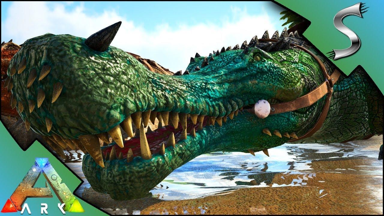 Ark Sarco Mutations Breeding For Mutant Sarcosuchus