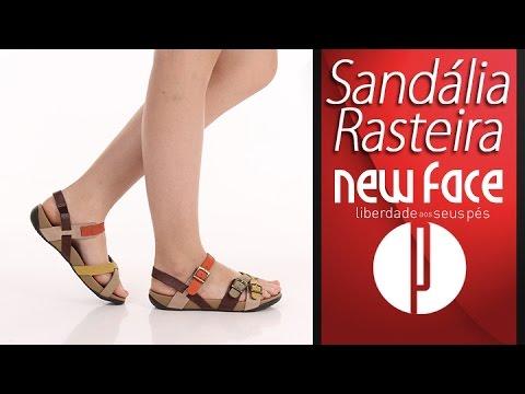 424d459a7 Sandália Rasteira Birken Feminina New Face - 6091431261 - YouTube