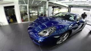 Porsche Cayman Blue