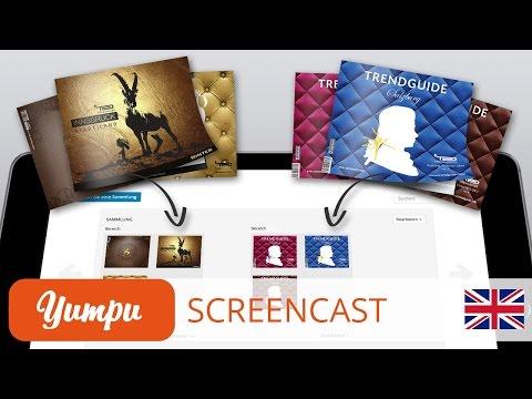 Screencast - How do I arrange and manage my  magazines on Yumpu.com?
