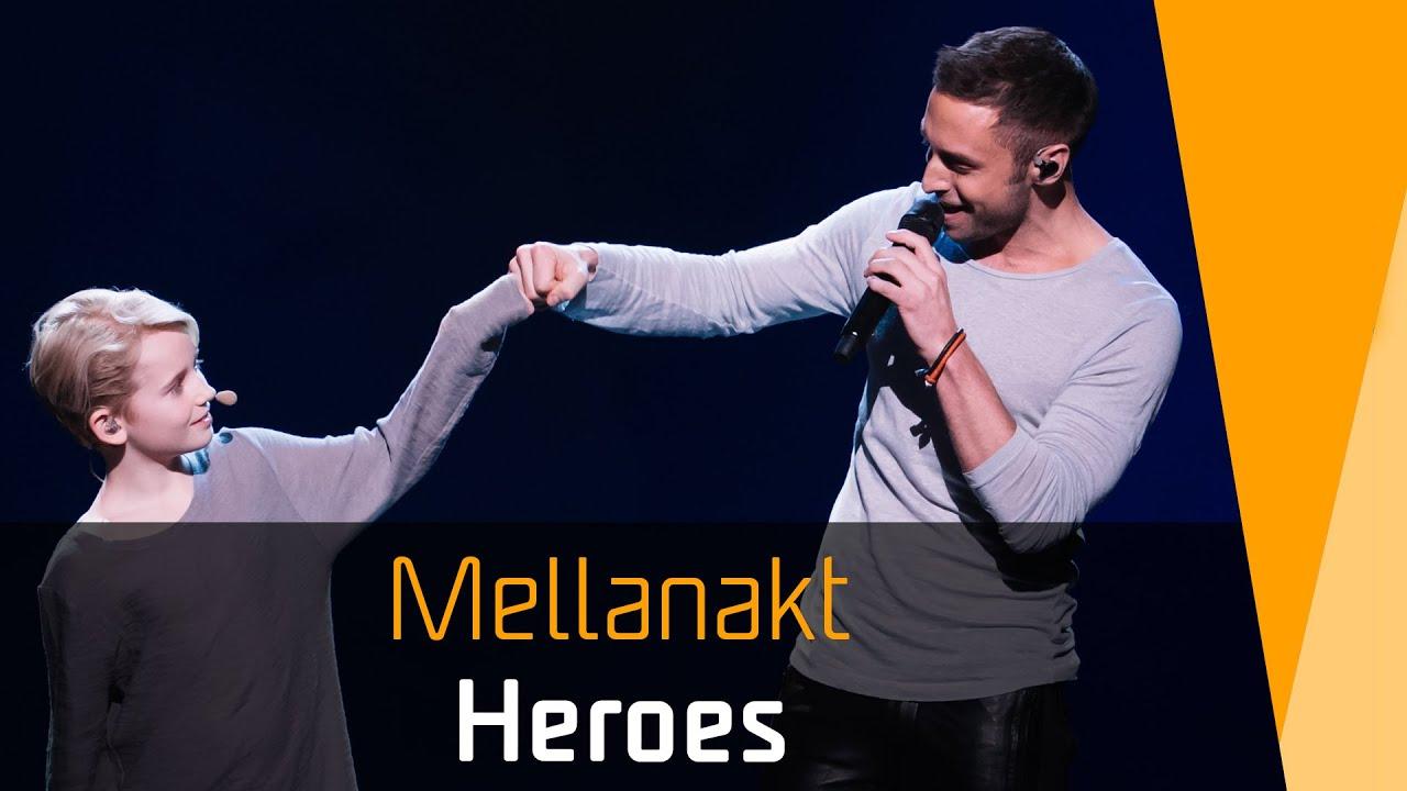 Måns Zelmerlöw – Heroes   Mellanakt