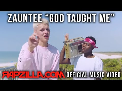 Zauntee  God Taught Me music   Christian Rap