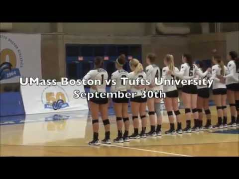UMass Boston Volleyball vs. Southern Maine (10/7/14) Webcast