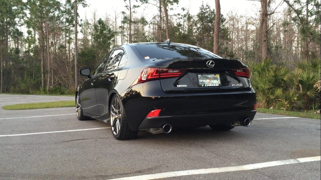 Invidia Exhaust comparison - Lexus 2014 IS250 - YouTube