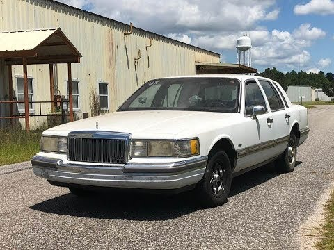 1990 5 0 Lincoln Town Car Loveboat Pt 3 Budget Drag Car Youtube