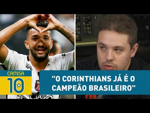 """""""O Corinthians já é o campeão brasileiro"""", crava Bruno Prado"""