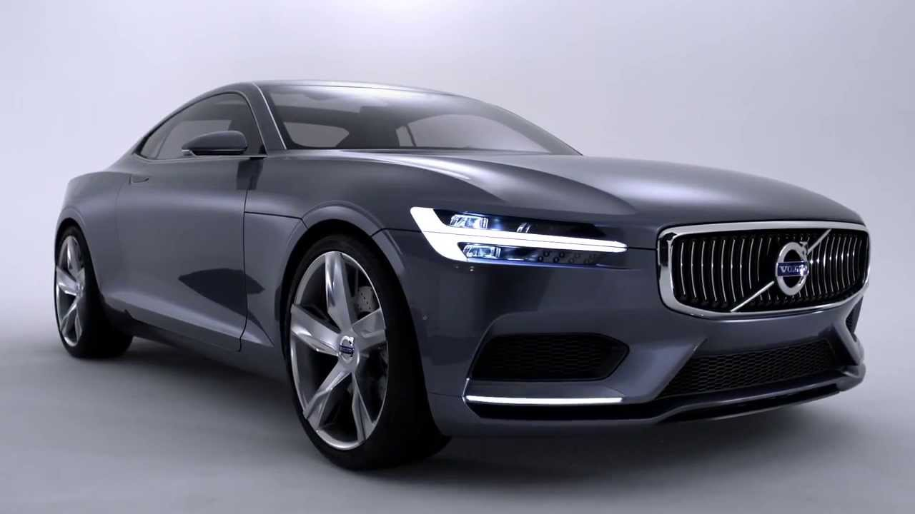 Volvo Sports Car >> Volvo Launches The Volvo Concept Coupe 2013 Remake Of The P1800 Sports Car