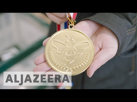 Japan taps into recycled phones for Olympic medals