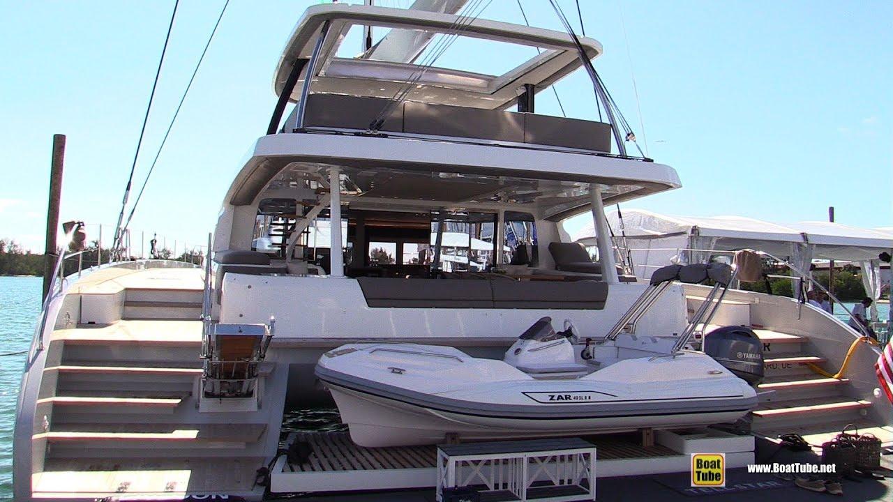 2019 Lagoon 70 Catamaran - Deck and Interior Walkthrough - 2019 Miami Boat  Show