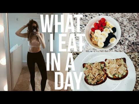 What I Eat In A Day (how i got my abs) | RENEE AMBERG