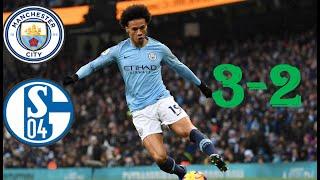 Manchester City vs schalke04 all Goals & Highlights HD 20/ 2/ 2019
