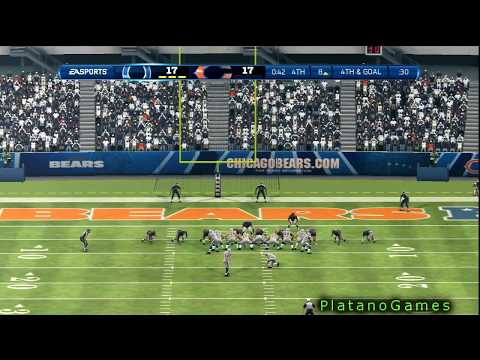 NFL 2012 Week 1 - Indianapolis Colts vs Chicago Bears - Andrew Luck Career - Madden