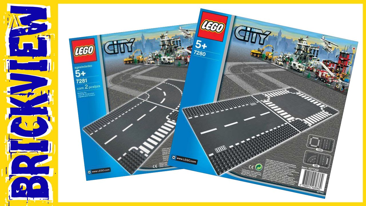 Why do we use Lego road plates ? - YouTube