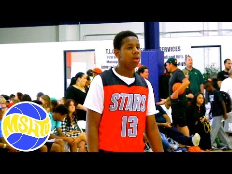 AJ Hoggard PUTS IN WORK at ACES Nationals with West Coast All Stars - MSHTV West