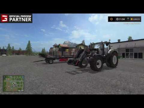 Farming Simulator 17 - OFFICIAL Preview Partner LiveStream #3