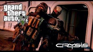 ► GTA 5 MOD - Crysis (Short Action Film) Nanosuit 2.0 - REDUX ENB - PC - 60 FPS