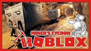 Roblox Miner's Tycoon - SO MANY MACHINES!