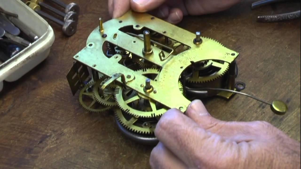Repairing Ansonia Time  U0026 Strike Clock Part 1  How To
