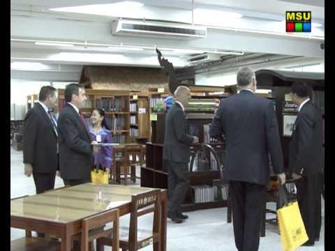มมส ต้อนรับเอกอัครราชทูตออสเตรเลีย ประจำประเทศไทย