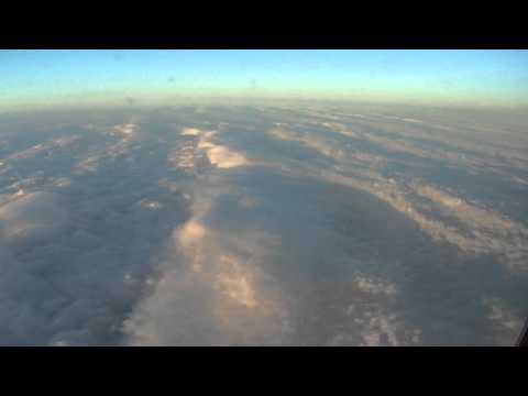 Los Angeles-to-Washington flight: above Las Vegas, Denver & landing 2011-03-16