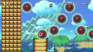 【マリオメーカー】30sec Speedrun(再投稿)【Super Mario Maker】