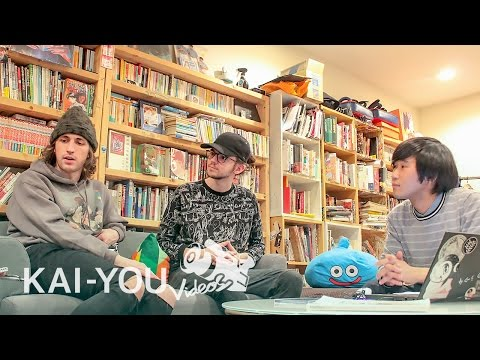 Porter Robinson & Madeon visit your house! Talking about multine · tomad and pop culture