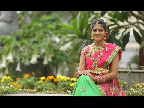 Sai Prahasya Half Saree Function Teaser - YouTube