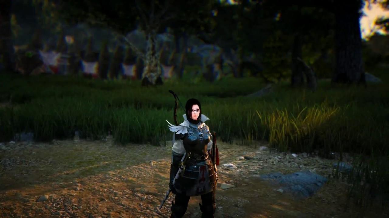 Black Desert - Delphe Knights Costume - Maehwa
