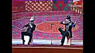 Казахская домбра VS киргизский комуз