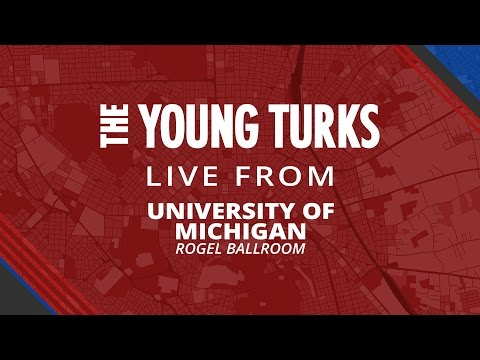 The Young Turks on Fusion | LIVE from University of Michigan, Ann Arbor