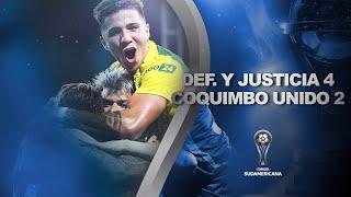Defensa y Justicia vs. Coquimbo Unido [4-2] | RESUMEN | Semifinal | VUELTA | CONMEBOL Sudamericana