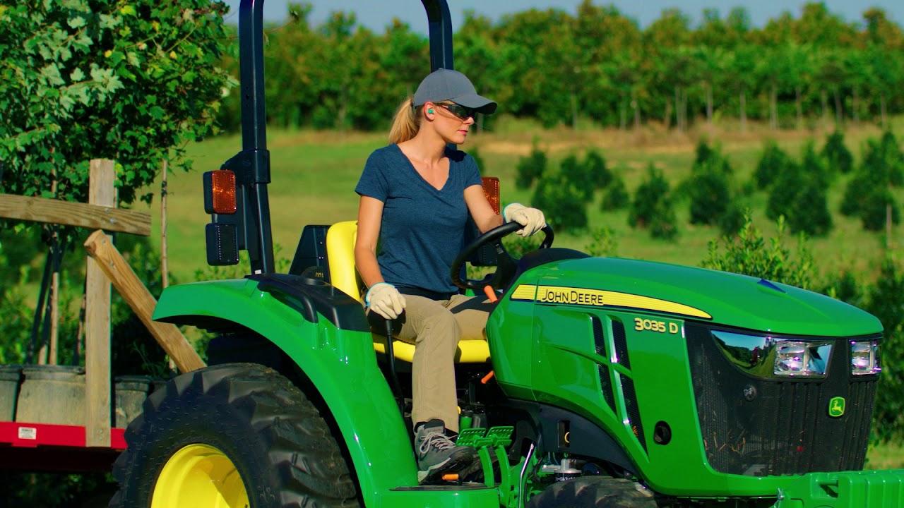 3 Series Compact Tractors | 3035D | John Deere CA