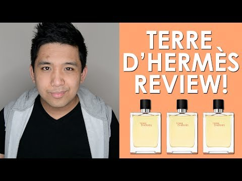 TERRE D'HERMÈS EDT by HERMÈS FRAGRANCE REVIEW!   CascadeScents