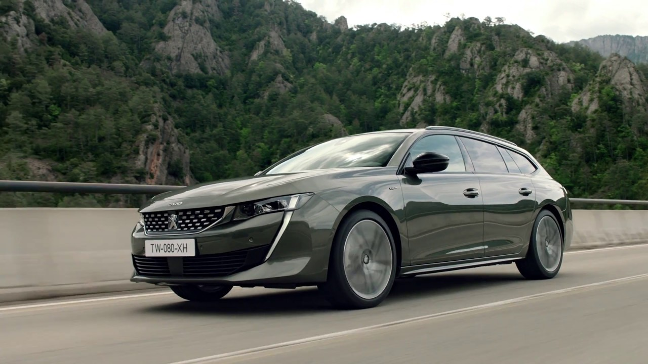2019 peugeot 508 sw video debut - youtube