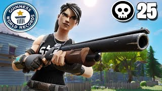 25 Kill FORTNITE 2 SOLO SQUAD WORLD RECORD Controller On Pc Fortnite Chapter 2Season 11