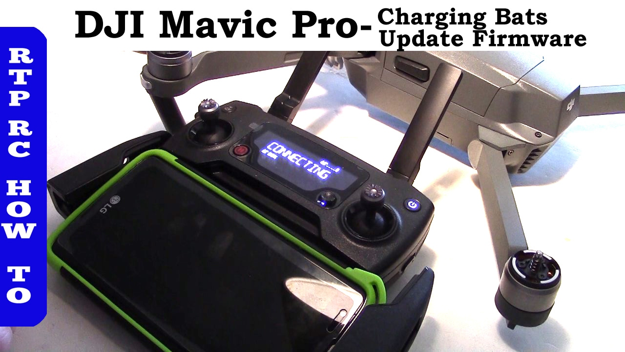 how to update firmware on mavic pro battery