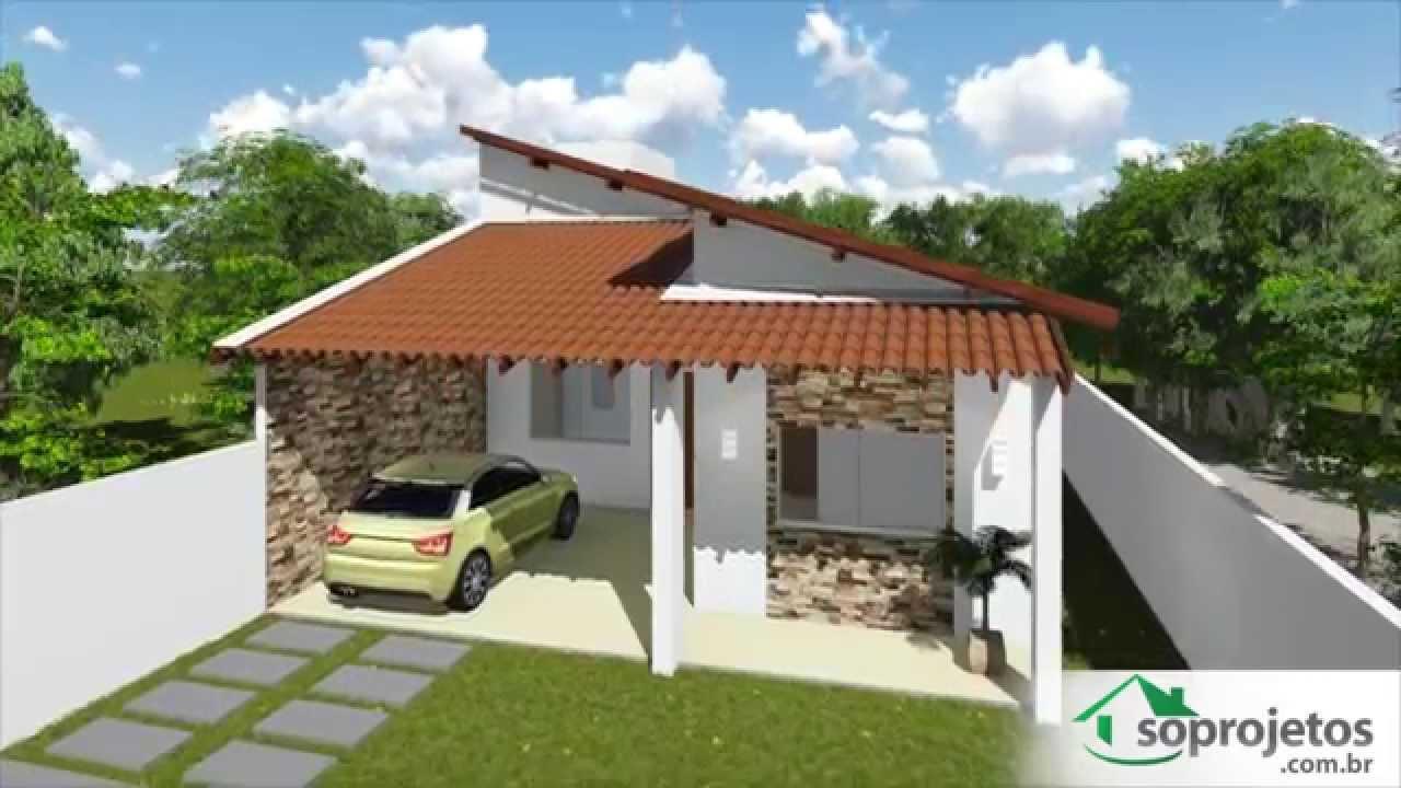 plantas de casas com 2 suites + 1 quarto - cód. 99 - so projetos