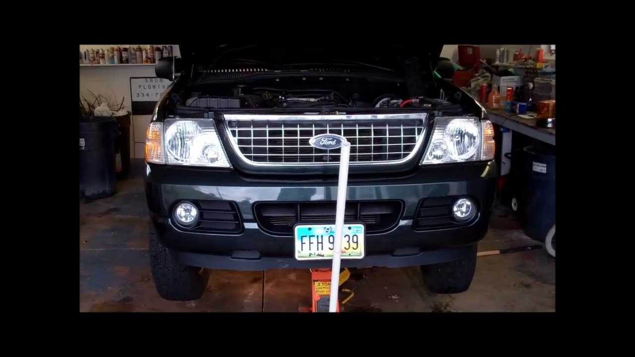 2004 Explorer Fuel Filter Youtube