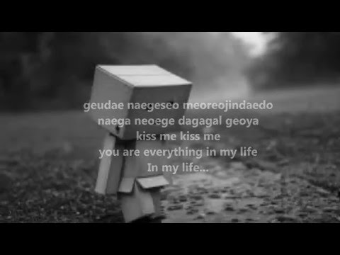 B-Rock Timber You Are My Everything Lyric