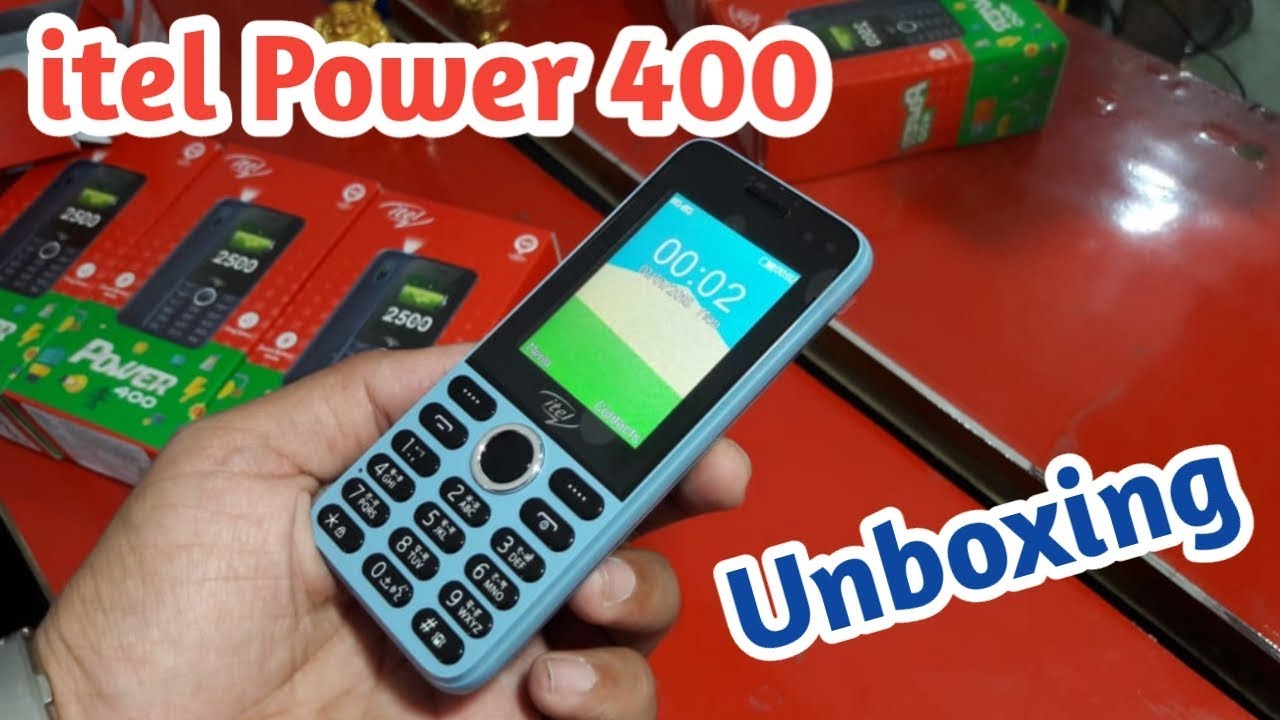 itel Power 400 First Look, Unboxing, Review [Hindi]