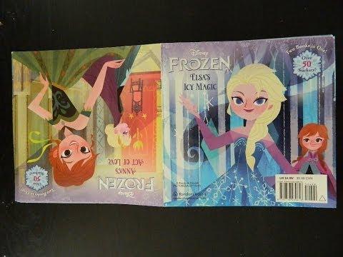 Disney FROZEN Elsa & Anna Storytime Bedtime Book - Reading