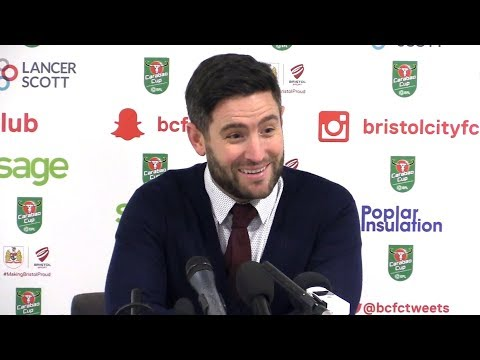 Bristol City 2-3 Manchester City (Agg 3-5) - Lee Johnson Full Post Match Press Conference