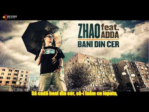 Zhao feat. Adda - Bani din cer [Karaoke]