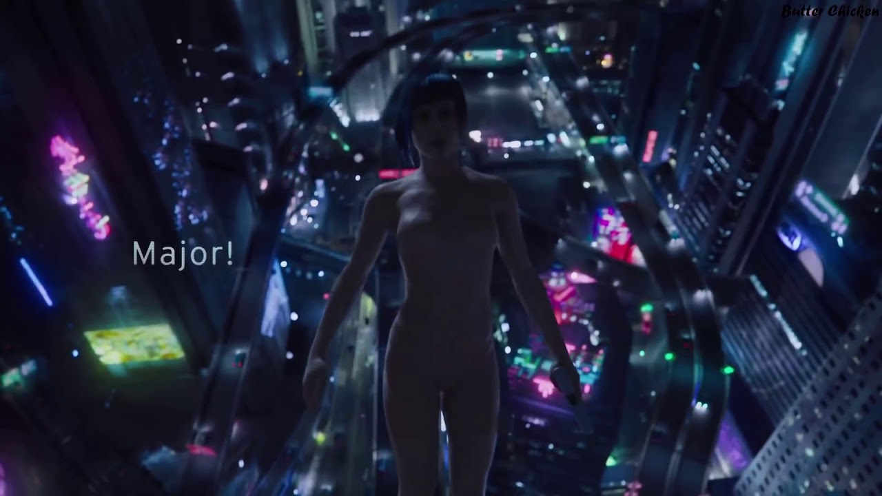 GHOST IN THE SHELL - ALL FIGHTING SCENES