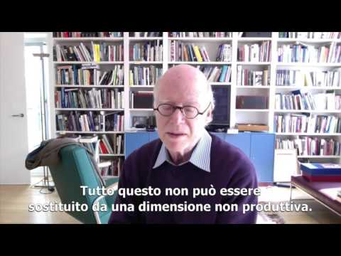 Jobless Society Forum - Richard Sennett, New York University | Futuro del lavoro